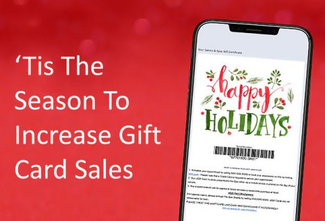 'Tis The Season To Increase Gift Card Sales