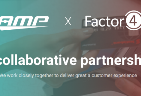 Factor4 Announces Partnership with Advanced Mobile Payment Inc. (AMP)